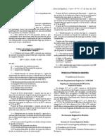 Decreto Regulamentar Regional n.º 2/2015/M