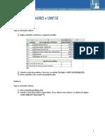 Funções Cont.valores e Cont.se