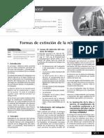 CL10 Formas de Extinción de La Relación Laboral