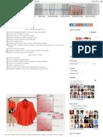 Blusa Fácil de Fazer - 34 _ Moldes Moda Por Medida