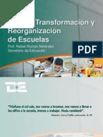 Presentacio Plan Reorganizacion Escuelas