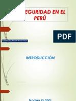 La Seguridad en el Perú