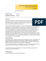 Threat Analysis Engineer - Copy