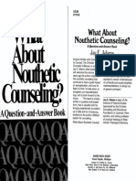 What About Nouthetic Counseling