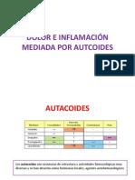 Dolor e Inflamación Mediada Por Autocoides