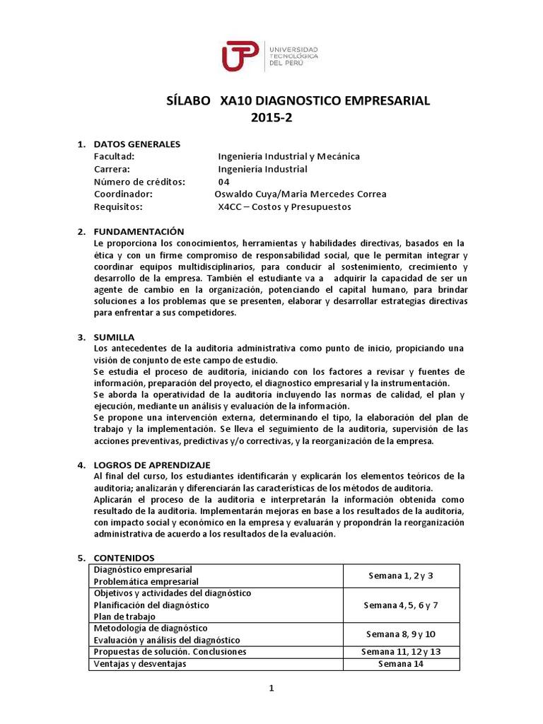 A152XA10 DiagnosticoEmpresarial 70b2cf72df81f