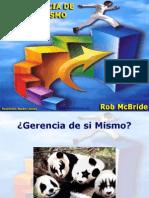 Gerencia de Si Mismo (Rob Macbride)
