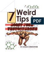 7 Weird Tips to Boost Your Testosterone