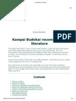 Kampai Budokai Reading List