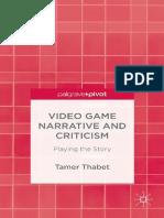 Video Game Narrative
