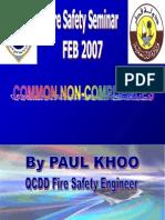 Qatar Civil Defence Common Non-compliances