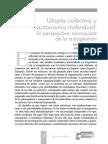 UtopiaColectivaYAutonomiaIndividual-una Perspectiva Anarquista de La Autogestion