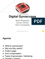 Digital Gyroscopes