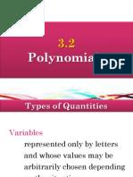 3.2 Polynomials