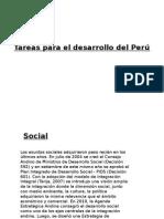 Tareas Para El Desarrollo Del Perú