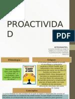 La proactividad