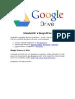 Introducción a Google Drive