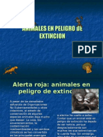 ANIMALES EN PELIGRO DE EXTINCION final
