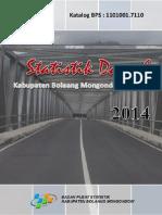 Statistik Daerah Kabupaten Bolaang Mongondow Selatan 2014 (1)