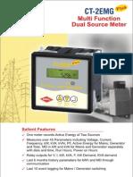 CT-2EMG Plus Multi Function Dual Source Meter