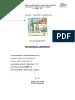 Observación y Análisis de La Práctica Escolar...Gestion Escolar 2