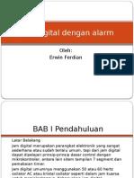 Jam Digital Dengan Alarm
