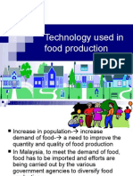 Technology Used in Food Production