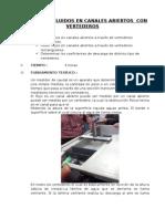 MEDICION DE FLUIDOS EN CANALES ABIERTOS  CON VERTEDEROS  - (CORREGIDO).docx