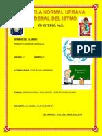 REPORTE GENERAL DE TERCERA JORNADA