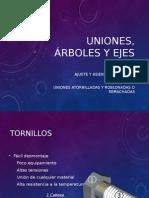 Uniones, Árboles y Ejes