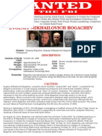 Evgeniy Mikhailovich Bogachev -FBI most wanted hacker
