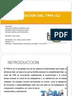 TPM Presentación. Implementación 12 pasos