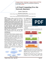 The Review of Cloud Computing Over the Network (Internet)