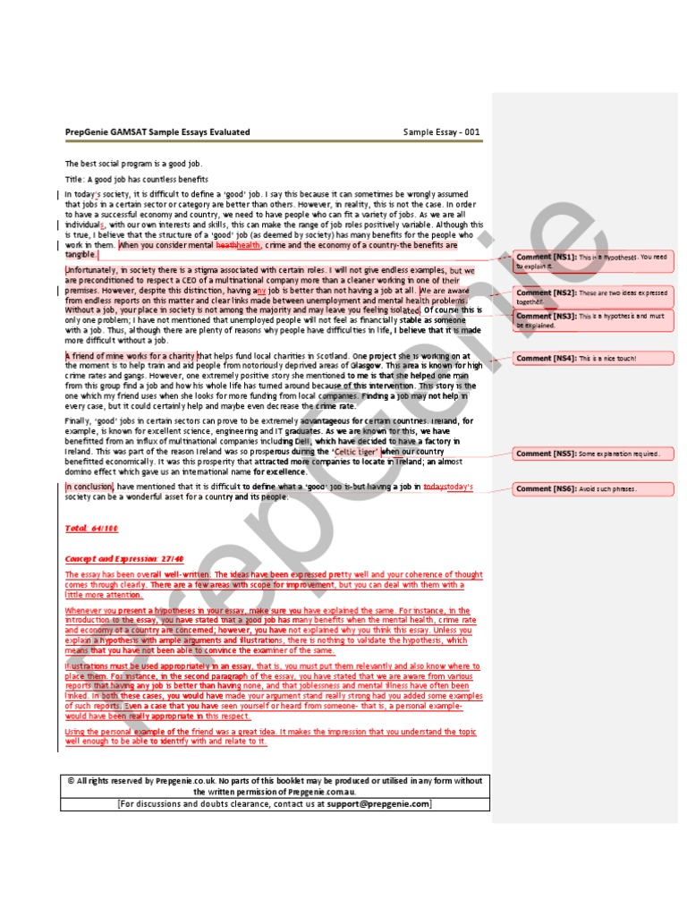 What is an conclusion in essay