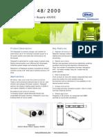 Eltek FP2 Rectifier -48V Manual