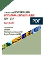 Standar Akuntansi Keuangan - ETAP