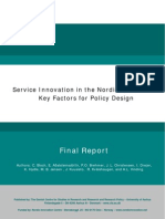 Service Innovation in the Nordic Countries