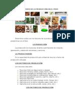 Factores de La Producción en El Perú
