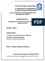 Practica 1 y 2 de Termodinamica