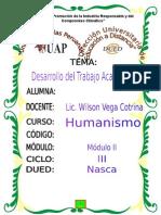 Tra. Humanismo