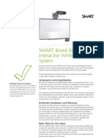 Factsheet SMART Board600i educatie DE