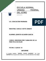 Diario e Informe 3 Jornada