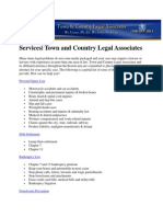 Town and Country Legal Associates Services