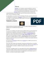 Características Físicas de Marte