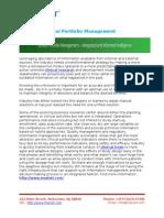 MaxisIT - Clinical Portfolio Management