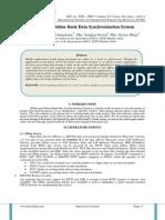 Offline and Online Bank Data Synchronization System