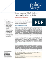 Ensuring the Triple Win of Labor Migration in Asia