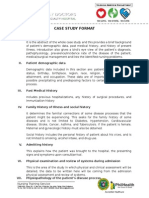 Case Study Format - PGTCN