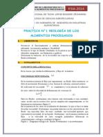 REOLOGÍA DE LOS ALIMENTOS PROCESADOS