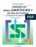Examenes de Matematicas l de Selectividad